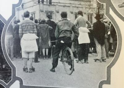 Bike Story Image 1- Student Cyclist 1928