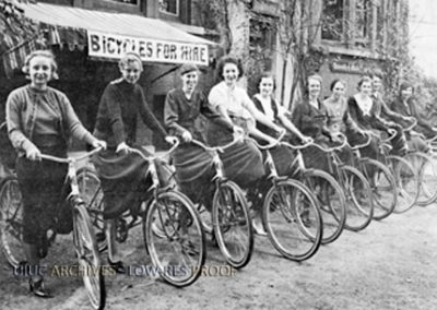 Bike Story Image 2 - CoEds on bikes 1933
