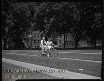 Bike Story Image 3 - 1944 Tandem Bike Ride