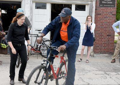 Bike Story Image 9 - Chancellor Robert Jones