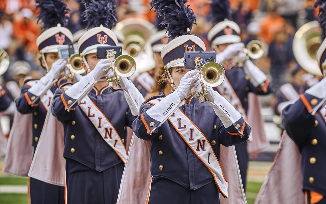 R-E-D-U-C-E: Illini Band Goes Green