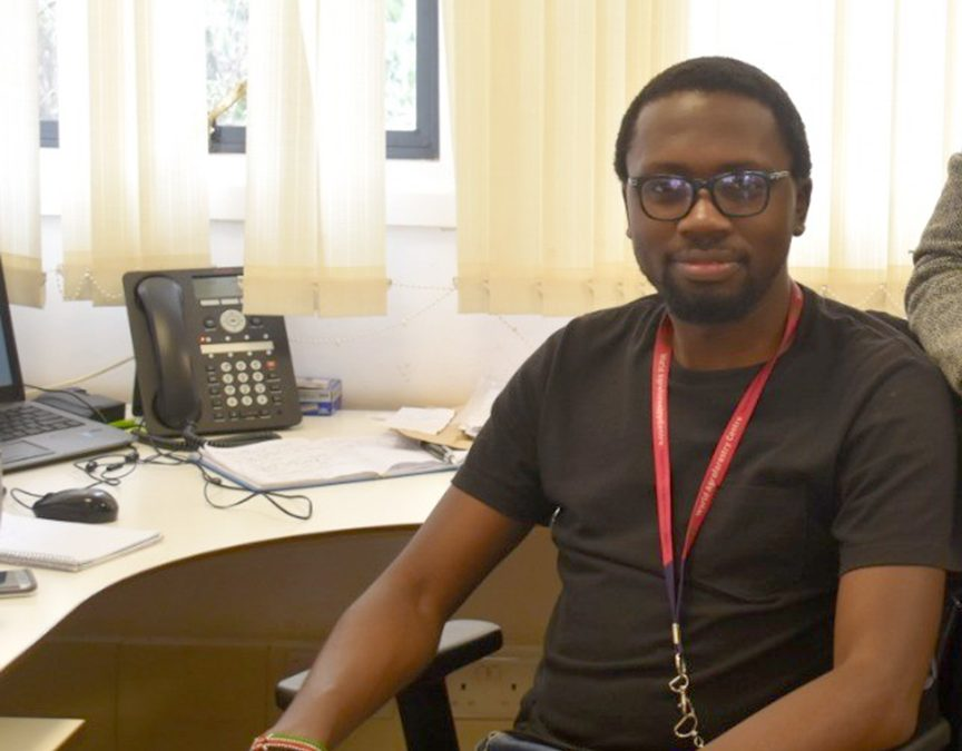 Research Around the World: iSEE's Nictor Namoi