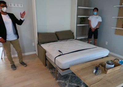... a bed!